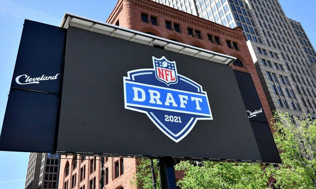 NFL Draft billboard